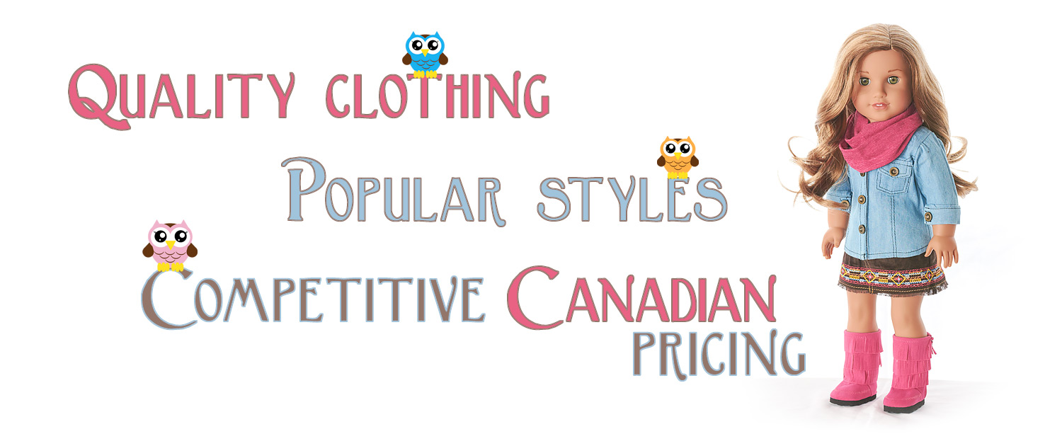 11b443ae2f8c3 Three Little Owls Doll Boutique – Canadian Source for Premium ...